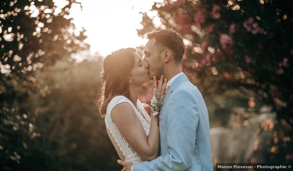 Le mariage de Maxime et Aurélie à Saint-Laurent-des-Arbres, Gard