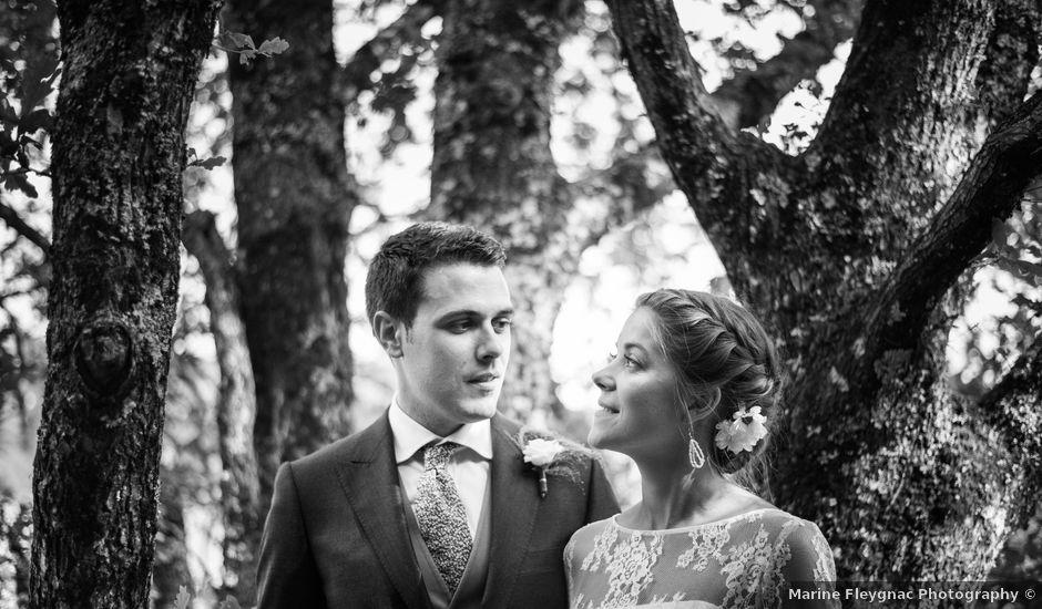 Le mariage de Mathieu et Sixtine à Chalais, Charente