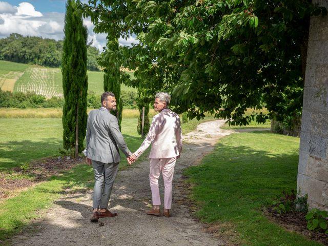 Le mariage de Jérôme et Odran à Izon, Gironde 4