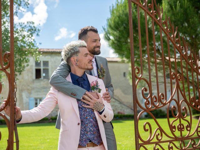 Le mariage de Jérôme et Odran à Izon, Gironde 5