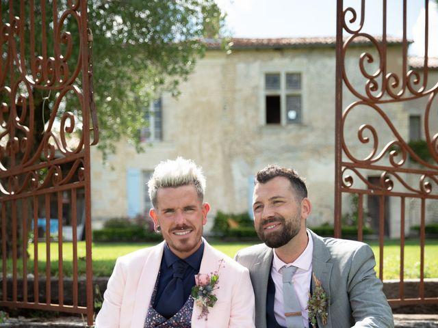 Le mariage de Jérôme et Odran à Izon, Gironde 6