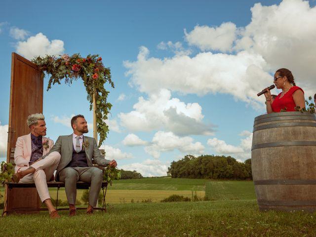Le mariage de Jérôme et Odran à Izon, Gironde 53