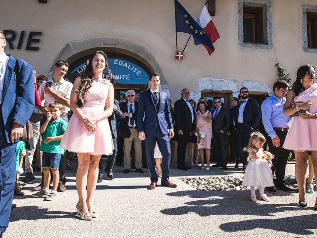 Le mariage de Christophe et Rebecca à Cruseilles, Haute-Savoie 11