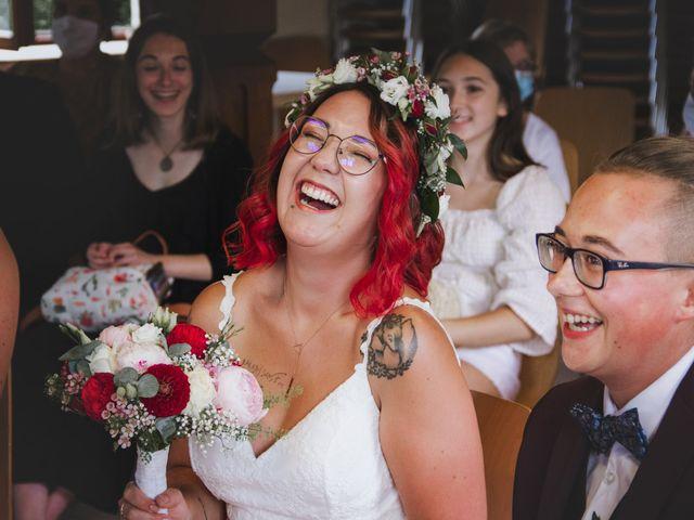 Le mariage de Justine et Anaïs à Saint-Martin, Bas Rhin 2