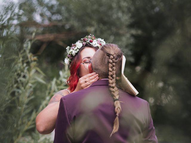 Le mariage de Justine et Anaïs à Saint-Martin, Bas Rhin 7
