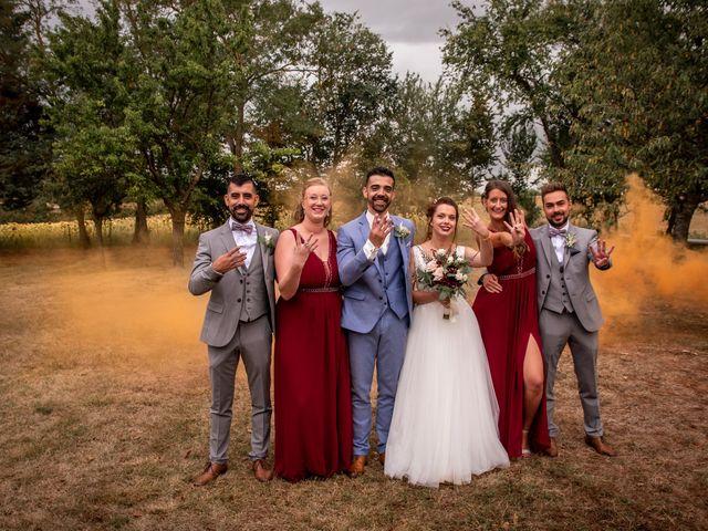 Le mariage de Simon et Jessica à Marquefave, Haute-Garonne 97