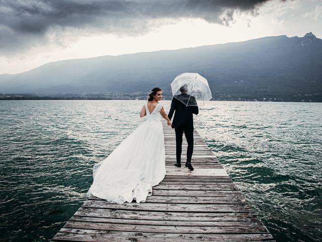 Le mariage de Julien et Priscilla à Saint-Jeoire-Prieuré, Savoie 7