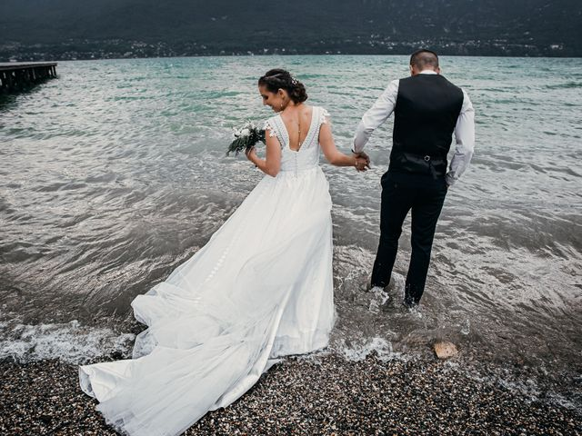 Le mariage de Julien et Priscilla à Saint-Jeoire-Prieuré, Savoie 13