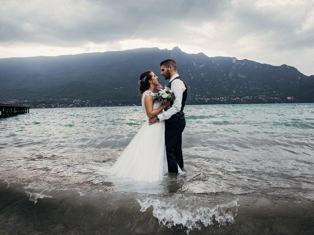 Le mariage de Julien et Priscilla à Saint-Jeoire-Prieuré, Savoie 1