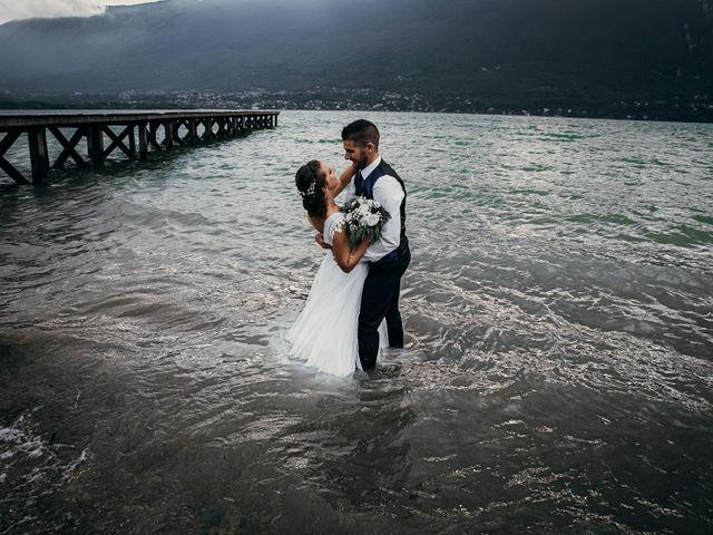 Le mariage de Julien et Priscilla à Saint-Jeoire-Prieuré, Savoie 14