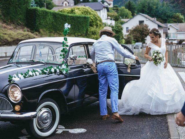 Le mariage de Julien et Priscilla à Saint-Jeoire-Prieuré, Savoie 37