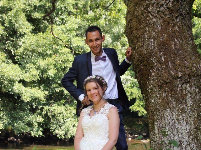 Le mariage de David et Mirabelle à Saint-Léonard-de-Noblat, Haute-Vienne 3