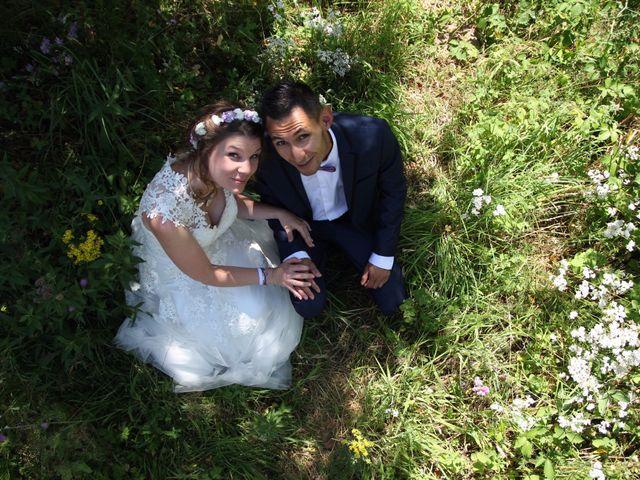 Le mariage de David et Mirabelle à Saint-Léonard-de-Noblat, Haute-Vienne 1