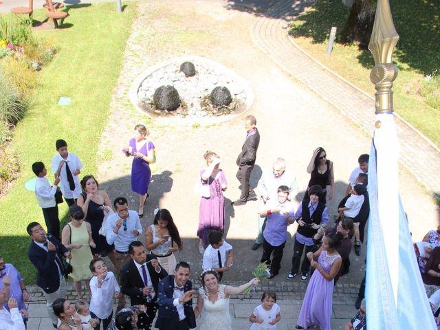 Le mariage de David et Mirabelle à Saint-Léonard-de-Noblat, Haute-Vienne 4