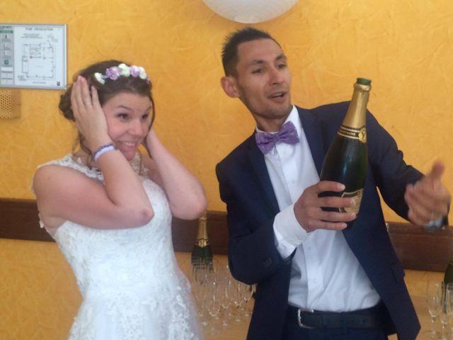 Le mariage de David et Mirabelle à Saint-Léonard-de-Noblat, Haute-Vienne 12