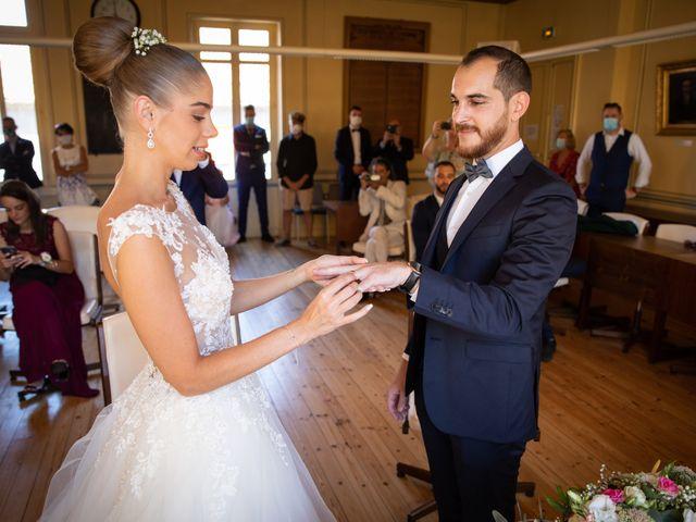 Le mariage de Johan et Maëva à Béziers, Hérault 35