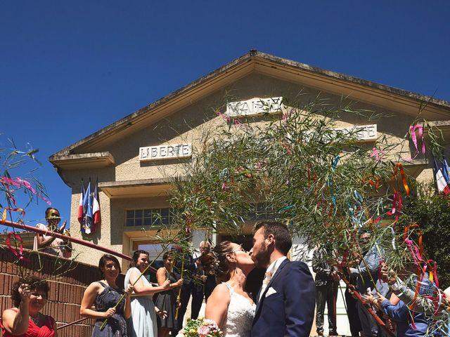 Le mariage de Sylvain et Emilie à Dénat, Tarn 16