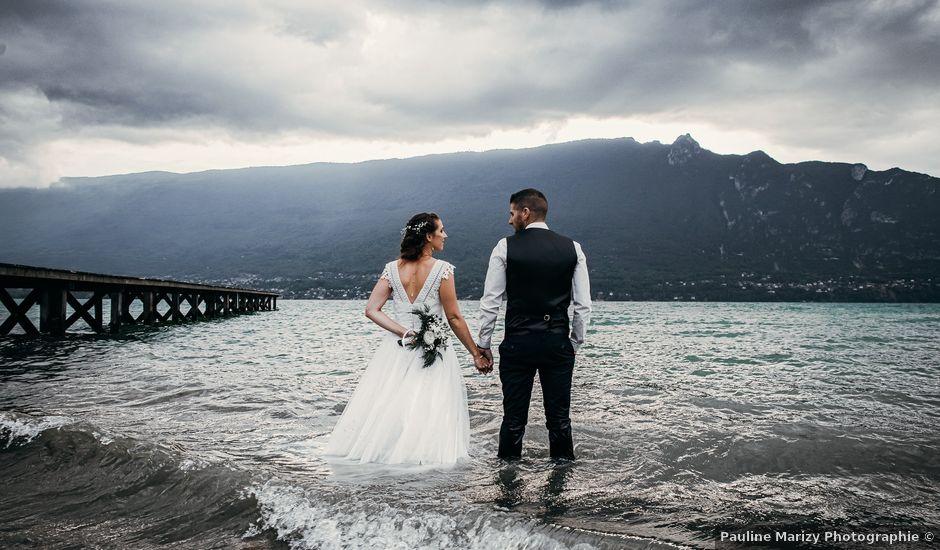 Le mariage de Julien et Priscilla à Saint-Jeoire-Prieuré, Savoie