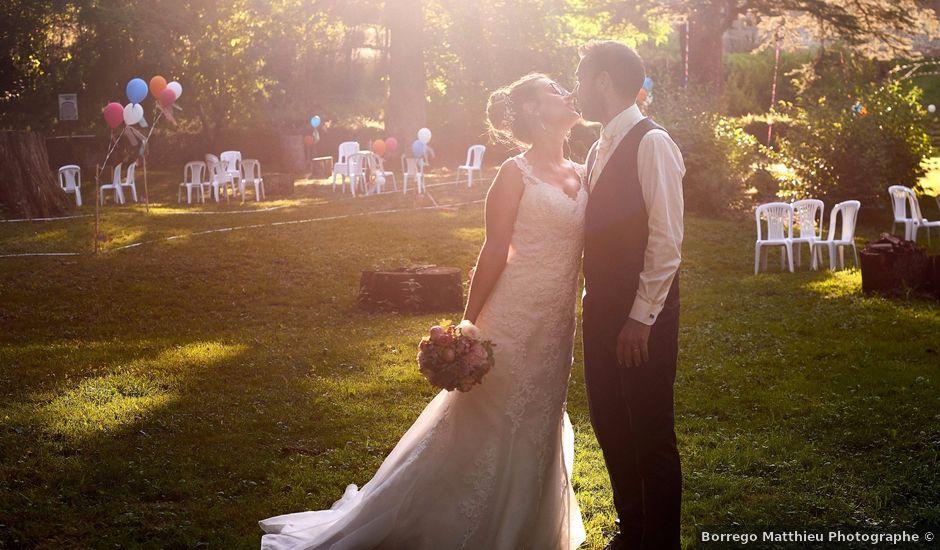 Le mariage de Sylvain et Emilie à Dénat, Tarn