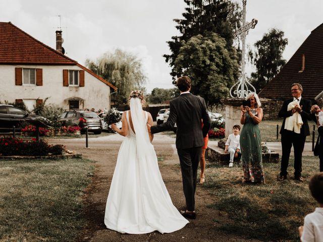 Le mariage de Benoit et Sofya à Mercey-le-Grand, Doubs 39