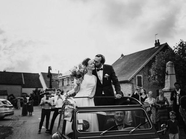 Le mariage de Benoit et Sofya à Mercey-le-Grand, Doubs 40