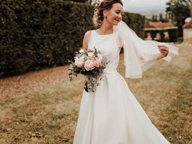 Le mariage de Benoit et Sofya à Mercey-le-Grand, Doubs 48