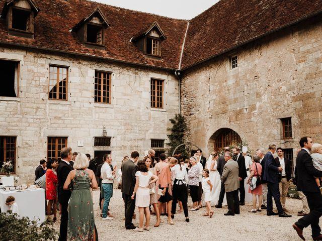 Le mariage de Benoit et Sofya à Mercey-le-Grand, Doubs 58
