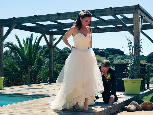 Le mariage de Sébastien et Gaelle à Cargèse, Corse 10