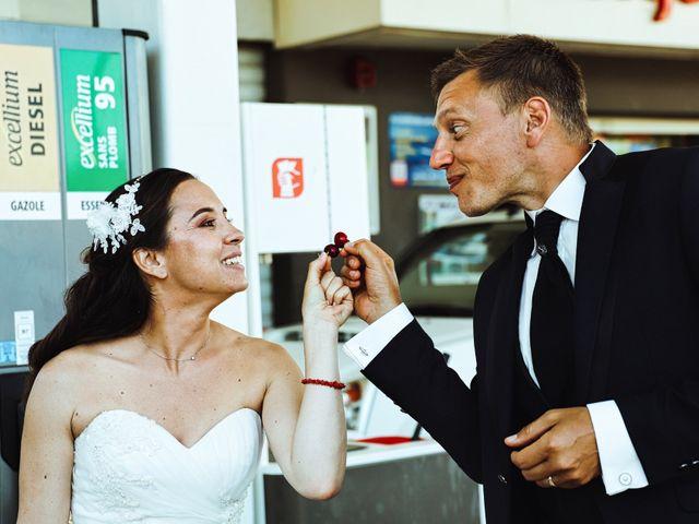 Le mariage de Sébastien et Gaelle à Cargèse, Corse 14
