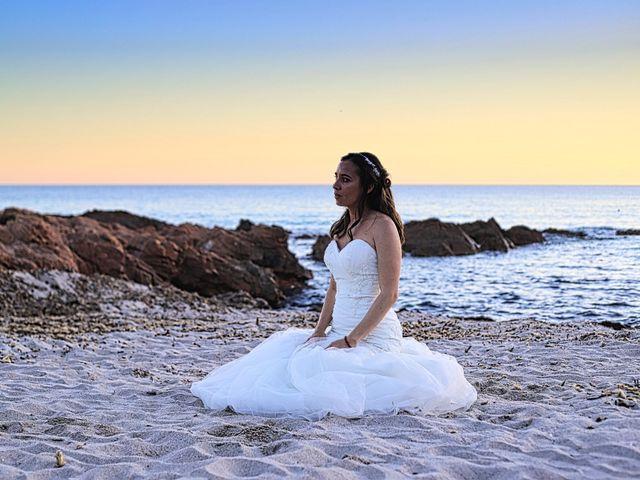 Le mariage de Sébastien et Gaelle à Cargèse, Corse 15