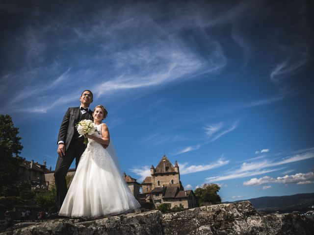 Le mariage de Joy et Quentin à Cranves-Sales, Haute-Savoie 15