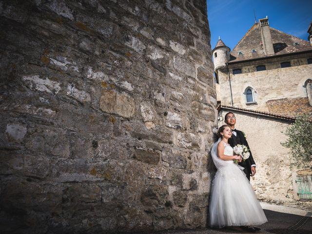 Le mariage de Joy et Quentin à Cranves-Sales, Haute-Savoie 22