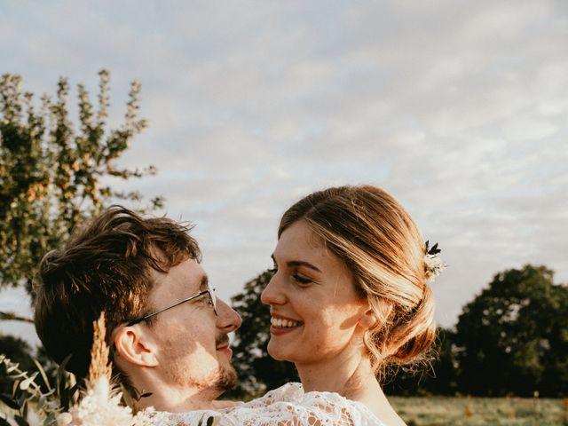 Le mariage de Thomas et Clotilde à Saint-Ouen-du-Mesnil-Oger, Calvados 6