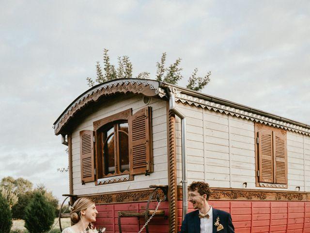 Le mariage de Thomas et Clotilde à Saint-Ouen-du-Mesnil-Oger, Calvados 7