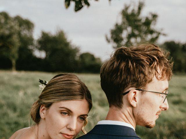 Le mariage de Thomas et Clotilde à Saint-Ouen-du-Mesnil-Oger, Calvados 11