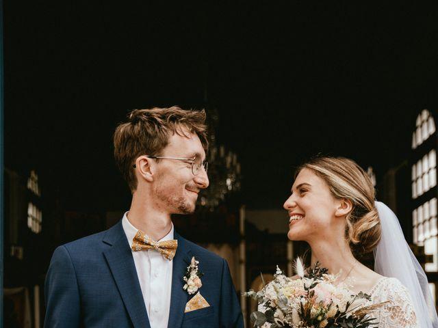Le mariage de Thomas et Clotilde à Saint-Ouen-du-Mesnil-Oger, Calvados 13