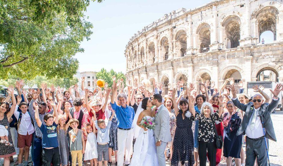 Le mariage de Daniele et Lale à Nîmes, Gard