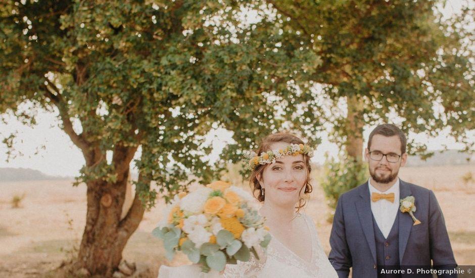 Le mariage de Thibault et Marion à Bossée, Indre-et-Loire