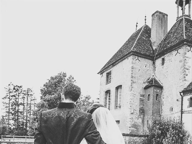 Le mariage de Xavier et Amélie à Aillant-sur-Tholon, Yonne 5