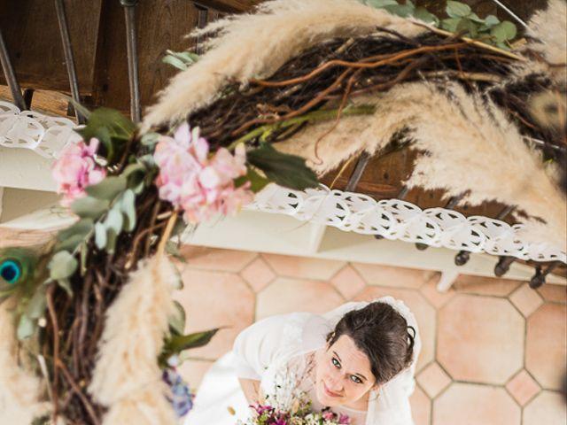 Le mariage de Xavier et Amélie à Aillant-sur-Tholon, Yonne 7