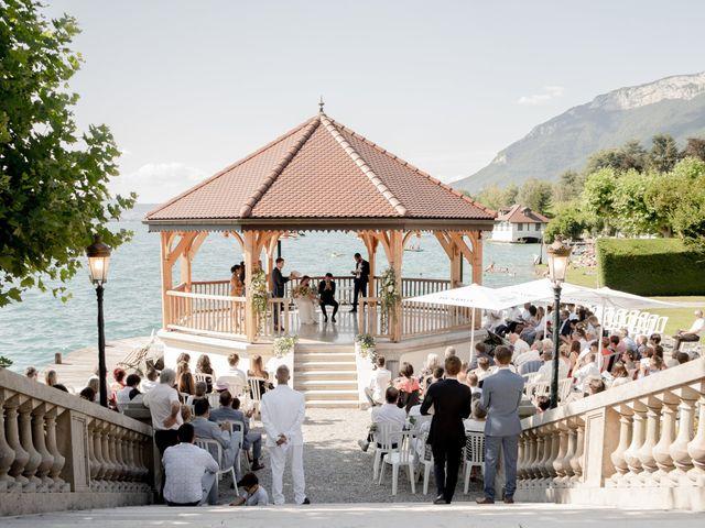 Le mariage de Arnaud et Océane à Menthon-Saint-Bernard, Haute-Savoie 8