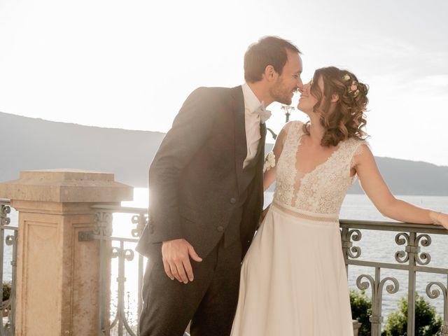 Le mariage de Arnaud et Océane à Menthon-Saint-Bernard, Haute-Savoie 10
