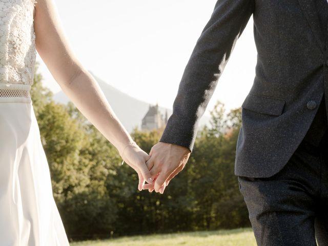 Le mariage de Arnaud et Océane à Menthon-Saint-Bernard, Haute-Savoie 23