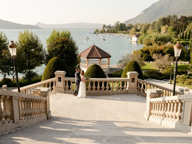 Le mariage de Arnaud et Océane à Menthon-Saint-Bernard, Haute-Savoie 5