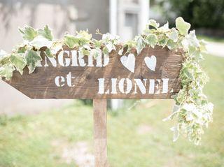 Le mariage de Ingrid et Lionel 1