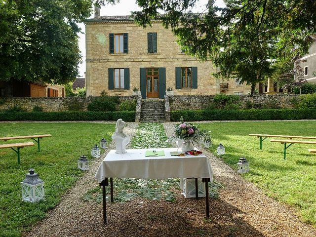 Le mariage de David et Cathy à Molières, Dordogne 10