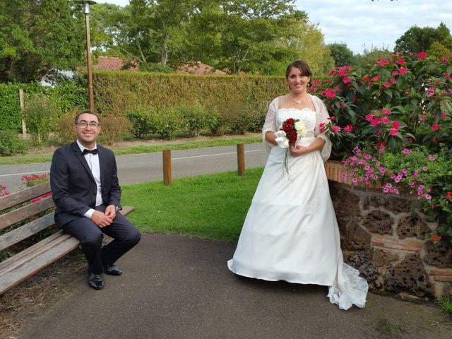 Le mariage de Mélody et Thomas à Sainte-Eulalie-en-Born, Landes 1