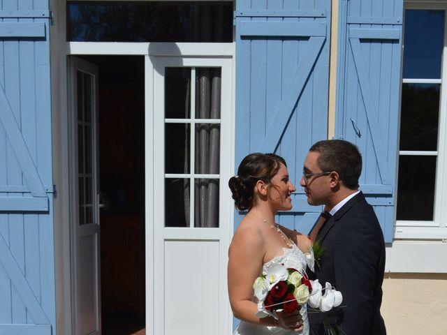 Le mariage de Mélody et Thomas à Sainte-Eulalie-en-Born, Landes 5