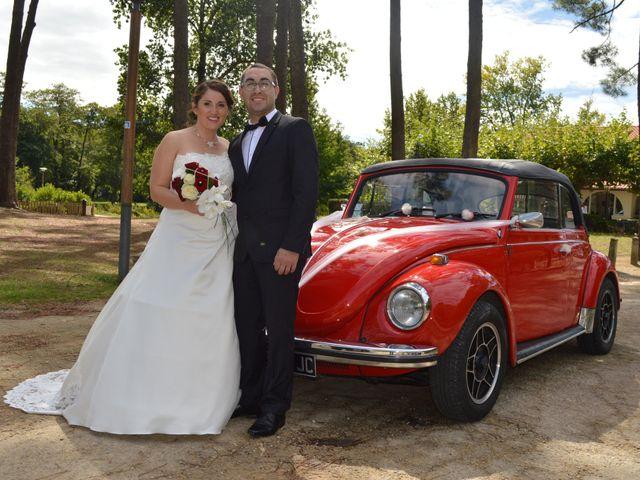 Le mariage de Mélody et Thomas à Sainte-Eulalie-en-Born, Landes 15