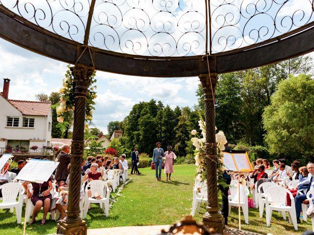 Le mariage de Jean et Aminata à Mauperthuis, Seine-et-Marne 12